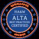HA & W ALTA Best Practices Certified Seal