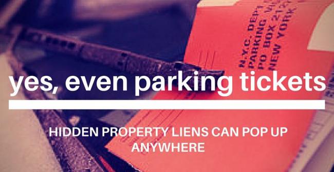 sellers property liens