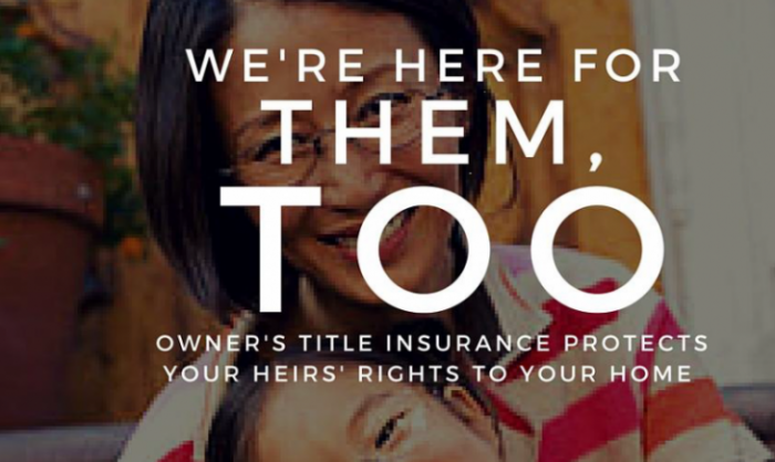 title insurance reminder