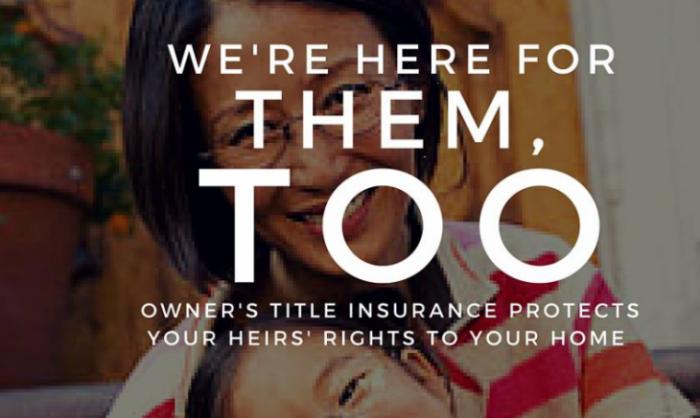 title insurance reminder